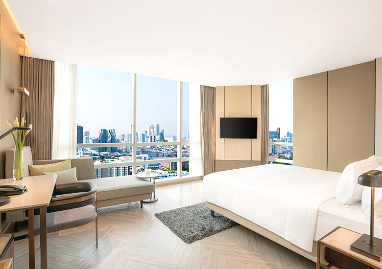 Everything You Need To Know About The Newly Appointed Deluxe Classic Accommodation At Pathumwan Princess Hotel.